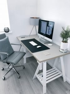 Work from Home Furniture - minimalist layout