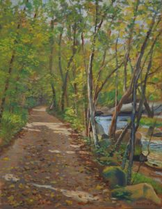 Tow Path on the Canal- by Paul Bertholet
